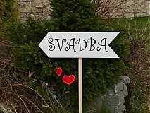 "Tabuľky - Tabuľka ""SVADBA""  - 2544193"
