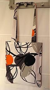 Nákupné tašky - Lístky s nádychom oranžovej - 2547194