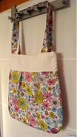 Veľké tašky - Kabelka s milión kvetmi - 2547231