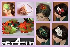 Kurzy - Čelenka do vlasov - ako na to: - 2551388