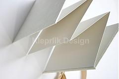 Darčeky pre svadobčanov - Minifotokniha-Leporelo Cream na 10ks foto 10x15 cm - 2552499