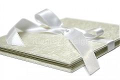 Darčeky pre svadobčanov - Minifotokniha-Leporelo Cream na 10ks foto 10x15 cm - 2552503