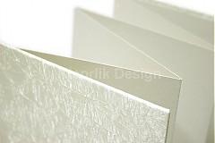 Darčeky pre svadobčanov - Minifotokniha-Leporelo Cream na 10ks foto 10x15 cm - 2552504