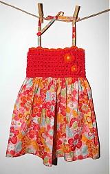 Detské oblečenie - Pestrofarebné šaty - 2554148