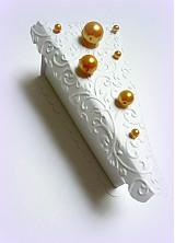 Darčeky pre svadobčanov - Zlatom pocukrovená... - 2564590