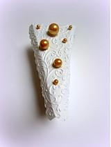 Darčeky pre svadobčanov - Zlatom pocukrovená... - 2564594