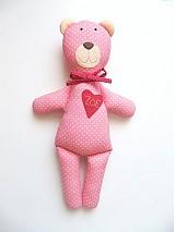 Hračky - Medvedík s menom podľa želania ♥ - 2565156