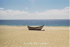 Fotografie - loďka na pláži - 2566607