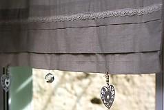 Úžitkový textil - a za závesom tma :) - 2574434