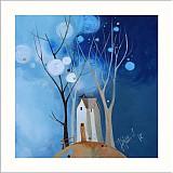 Grafika - dážď ide - detail - 2575610