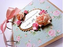 Papiernictvo - Vôňa babičkinej záhrady... - 2587263