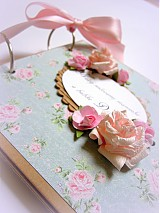 Papiernictvo - Vôňa babičkinej záhrady... - 2587266