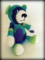Hračky - Háčkovaný medveď Albert - 2588220