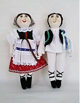 Bábiky - bábiky MARA a JURO/pár /na želanie,maľovaná tvár ,farebnosť na želanie - 2588831