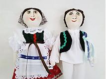 Bábiky - bábiky MARA a JURO/pár /na želanie,maľovaná tvár ,farebnosť na želanie - 2588832