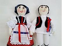 Bábiky - bábiky MARA a JURO/pár /na želanie,maľovaná tvár ,farebnosť na želanie - 2588840