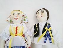 Bábiky - bábiky MARA a JURO/pár /na želanie,maľovaná tvár ,farebnosť na želanie - 2588851