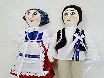 Bábiky - bábiky MARA a JURO/pár /na želanie,maľovaná tvár ,farebnosť na želanie - 2588855