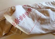 Úžitkový textil - Na ľudovú nôtu obrus - 2589473