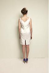 Šaty - Svadobné hodvábné koktejlky - 2591466