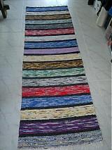 Úžitkový textil - Koberec pásikavý 218x74cm - 2596519