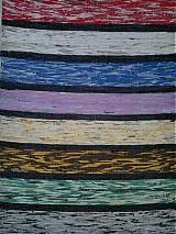 Úžitkový textil - Koberec pásikavý 218x74cm - 2596521