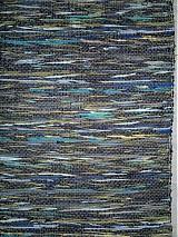 Úžitkový textil - Koberec tmavo zeleno-modrý 160x74cm - 2597294