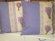 Úžitkový textil - Levanduľové vankúšiky - 2600489