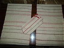 Úžitkový textil - prestieranie s príručnou taštičkou - 2613587