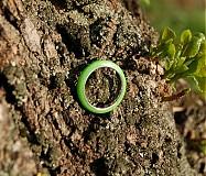 Prstene - Farebné perleťové prstene - 2622177