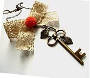 Náhrdelníky - Kľúč k spomienkam - 2630700