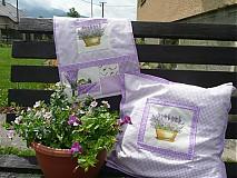Úžitkový textil - Vreckár - levanduľový SKLADOM - 2632580
