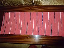 Úžitkový textil - prestieranie červené - 2642764