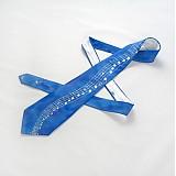 - Modrá hudební kravata - 264448