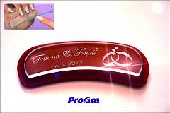 Svadobný pilníček - ergonomický