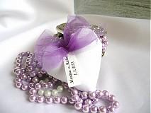 Darčeky pre svadobných hostí V.