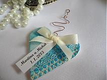 Darčeky pre svadobných hostí VIII.