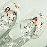 - Svadobné poháre karikatúrky - 2664725