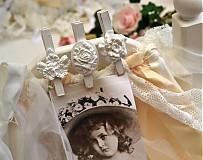 Dekorácie - Ružičkové štipce nie len svadobné - 2666232