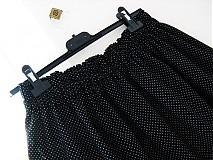 Sukne - Mini Dots - sukýnka s maličkými puntíčky :-) - 2676346
