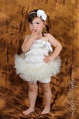 Detské oblečenie - maslová TUTU - 2680106