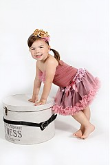 Detské oblečenie - Staroružová TUTU - 2680117