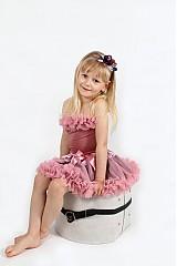 Detské oblečenie - Staroružová TUTU - 2680118