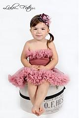 Detské oblečenie - Staroružová TUTU - 2680119