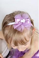 Ozdoby do vlasov - orgovánová so srdiečkom - 2680136