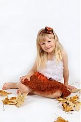 Detské oblečenie - škoricová tutu sukňa - 2680142