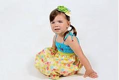 Detské oblečenie - Farebné kvetinové šaty - 2680644