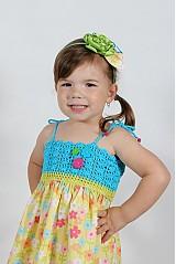 Detské oblečenie - Farebné kvetinové šaty - 2680645