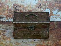 Krabičky - Nežný čokoládkový minikufrík - 2686343