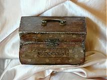 Krabičky - Nežný čokoládkový minikufrík - 2686346